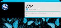 HP Tintenpatrone cyan (hell) B6Y12A 771C 775ml