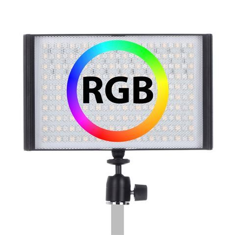 Falcon Eyes RGB LED Lampe Set T8 inkl. Akku