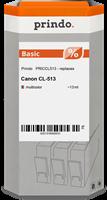 Prindo Tintenpatrone color PRICCL513 CL-513 13ml Prindo BASIC: DIE preiswerte Alternative, Top Quali