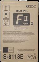 Riso Tintenpatrone Schwarz S-8113E EZ-Type, VE=2