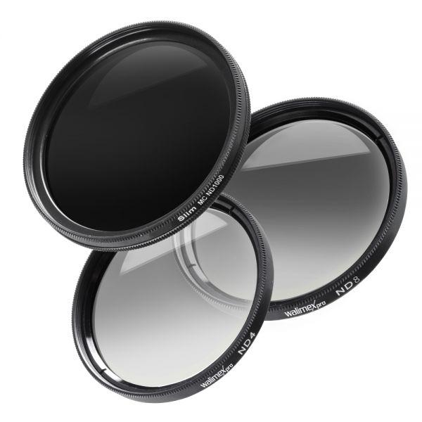 Miglior prezzo walimex pro grey filter complete set 58 mm -