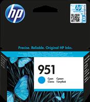 HP Tintenpatrone Cyan CN050AE 951 ~700 Seiten