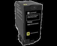 Lexmark Toner Gelb 74C2SY0 ~7000 Seiten Rückgabe-Druckkassette
