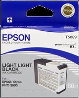 Epson Tintenpatrone light light black C13T580900 T5809 80ml