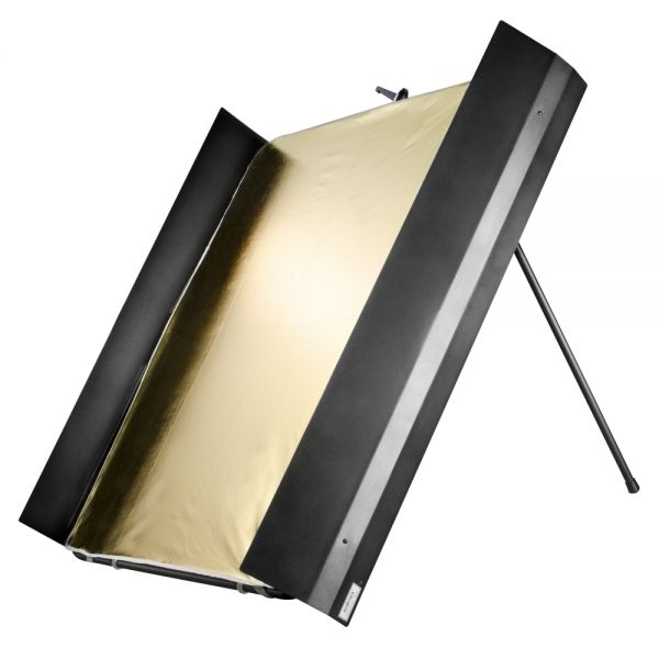 Miglior prezzo walimex pro Reflector Panel with Barn Doors, 1x1m -