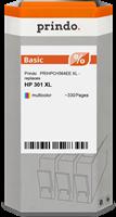 Prindo Tintenpatrone color PRIHPCH564EE 301XL ~330 Seiten Prindo BASIC: DIE preiswerte Alternative,