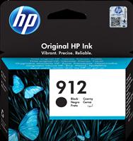 HP Tintenpatrone Schwarz 3YL80AE 912 ~300 Seiten
