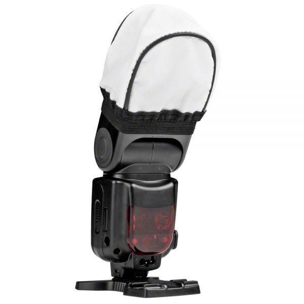 Miglior prezzo walimex Univ. Fabric Diffuser for Compact Flashes -