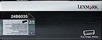 Lexmark Toner Schwarz 24B6035 ~16000 Seiten Rückgabe-Druckkassette