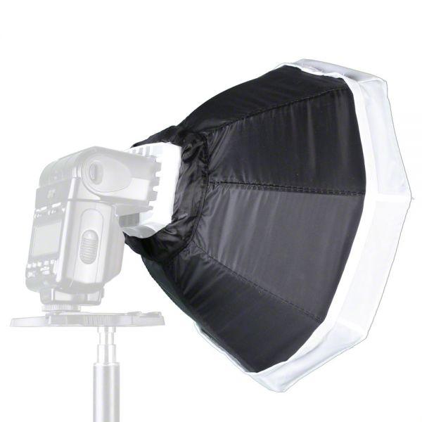 Miglior prezzo softbox bank octagon ottagonale walimex Ø 30cm per flash compatt -