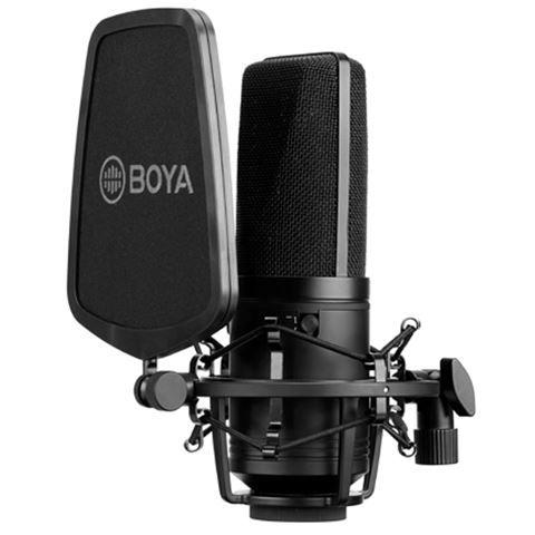Boya Großmembran Kondensator Mikrofon BY-M1000