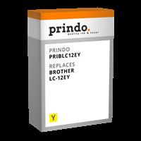 Prindo Tintenpatrone Gelb PRIBLC12EY LC-12 ~1200 Seiten Prindo CLASSIC: DIE Alternative, Top Qualitä