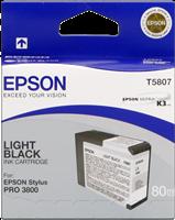 Epson Tintenpatrone schwarz (hell) C13T580700 T5807 80ml