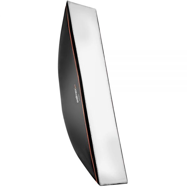Walimex pro Softbox OL 40x180cm + Univ. Adapter