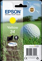 Epson Tintenpatrone Gelb C13T34644010 T3464 ~300 Seiten 4.2ml 34