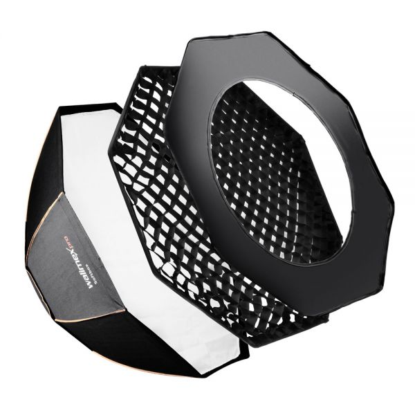 Miglior prezzo walimex pro Octagon Softbox ottagonale PLUS OL Ø120 adattatore -