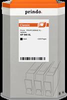 Prindo Tintenpatrone Schwarz PRIHPC4906AE 940XL ~2200 Seiten Prindo CLASSIC: DIE Alternative, Top Qu