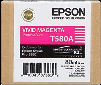 Epson Tintenpatrone magenta (vivid) C13T580A00 T580A 80ml