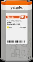 Prindo Tintenpatrone Gelb PRIBLC125XLY LC-125XL ~1200 Seiten Prindo CLASSIC: DIE Alternative, Top Qu