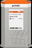 Prindo Tintenpatrone Magenta PRIBLC985M LC-985 ~260 Seiten Prindo BASIC: DIE preiswerte Alternative,