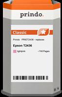 Prindo Tintenpatrone magenta (hell) PRIET2436 T2436 ~740 Seiten Prindo CLASSIC: DIE Alternative, Top