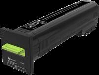 Lexmark Toner Schwarz 72K20K0 ~8000 Seiten Rückgabe-Druckkassette