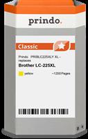 Prindo Tintenpatrone gelb PRIBLC225XLY LC-225XL ~1200 Seiten Prindo CLASSIC: DIE Alternative, Top Qu