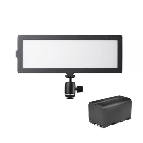 Walimex pro Soft LED 200 Flat Bi Color Akku Set