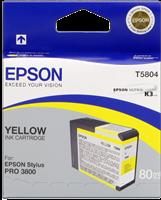 Epson Tintenpatrone gelb C13T580400 T5804 80ml
