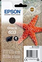 Epson Tintenpatrone Schwarz C13T03U14010 603 ~150 Seiten