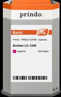Prindo Tintenpatrone magenta PRIBLC1240M LC-1240 ~600 Seiten Prindo BASIC: DIE preiswerte Alternativ
