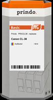 Prindo Tintenpatrone mehrere Farben PRICCL38 CL-38 9ml Prindo BASIC: DIE preiswerte Alternative, Top