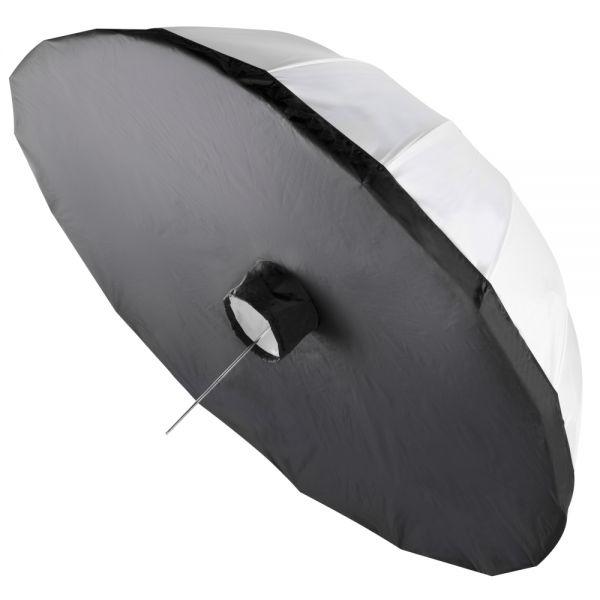 Walimex Durchlichtreflektor schwarz/wei?, ?180cm