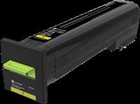 Lexmark Toner Gelb 72K20Y0 ~8000 Seiten Rückgabe-Druckkassette