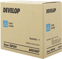 Develop Toner cyan A0X54D7 TNP-50C ~5000 Seiten