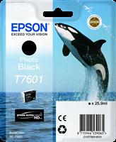 Epson Tintenpatrone schwarz (foto) C13T76014010 T7601 25.9ml UltraChrome HD
