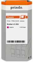 Prindo Tintenpatrone Magenta PRIBLC22UM LC-22 ~1200 Seiten Prindo CLASSIC: DIE Alternative, Top Qual