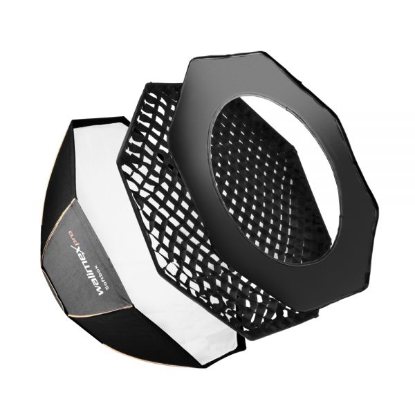 Walimex pro Octagon Softbox PLUS Orange Line 60