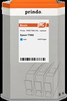 Prindo Tintenpatrone Cyan PRIET7892 XXL ~4000 Seiten Prindo BASIC: DIE preiswerte Alternative, Top Q