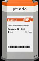Prindo Tintenpatrone schwarz PRISINKM40 INK-M40 ~750 Seiten Prindo CLASSIC: DIE Alternative, Top Qua