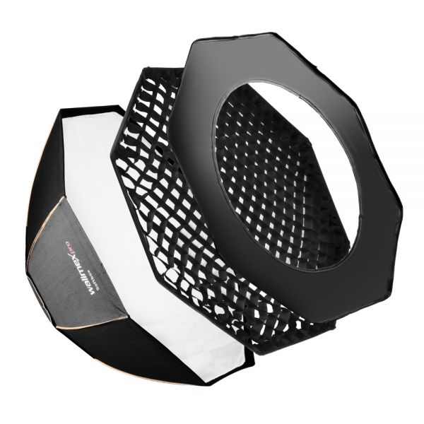 Walimex pro Octagon Softbox PLUS Orange Line 120