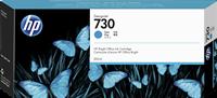 HP Tintenpatrone Cyan P2V68A 730 300ml