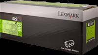 Lexmark Toner schwarz 52D2000 522 ~6000 Seiten Rückgabe-Druckkassette