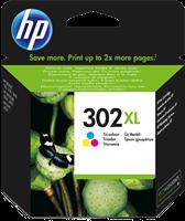 HP Tintenpatrone mehrere Farben F6U67AE 302 XL ~330 Seiten