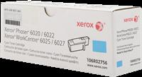 Xerox Toner cyan 106R02756 ~1000 Seiten Standardkapazität