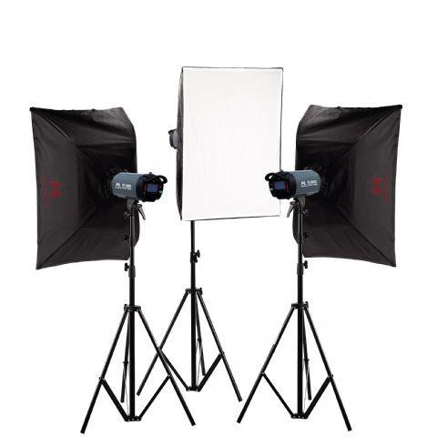 Falcon Eyes Studioblitz Set TFK-3400L mit LCD-Schirm