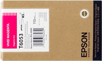 Epson Tintenpatrone magenta (vivid) C13T605300 T6053 110ml