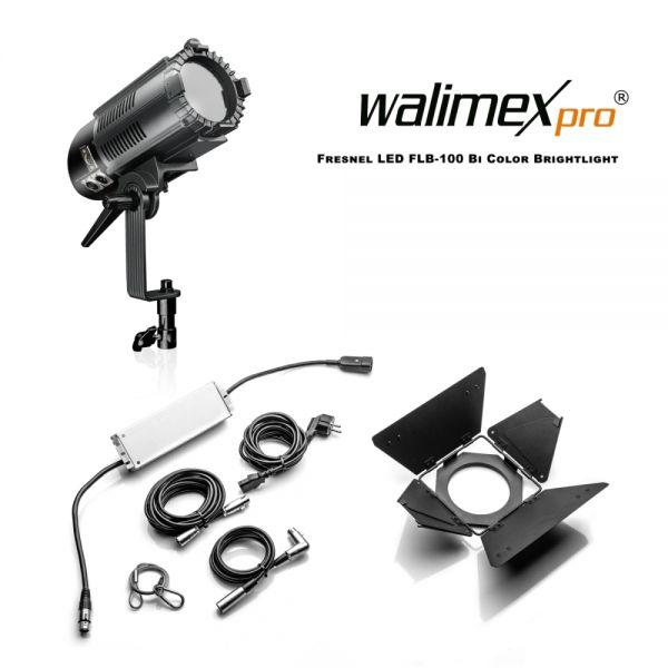 Walimex pro Fresnel LED FLB-100 Bi Color Brightlight