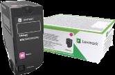 Lexmark Toner Magenta 74C2HME ~12000 Seiten Corporate Toner