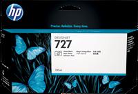 HP Tintenpatrone schwarz (Foto) B3P23A 727 130ml